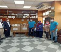 مستلزمات وقاية وحماية للفرق الطبية بمستشفى الفيوم العام من صناع الخير