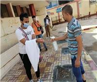 «مدير تعليم الجيزة» يتابع سير الامتحانات العملي للدبلومات الفنية