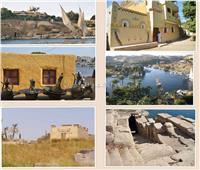 """قصة """"إلفنتين"""" حصن مصر الجنوبى ومركز تجارة العاج"""