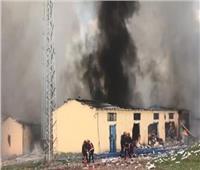 مقتل 3 أشخاص في انفجار مخلفات مصنع ألعاب نارية بتركيا