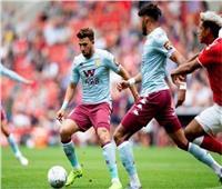 تريزيجيه أساسيًا والمحمدي مع بدلاء أستون فيلا أمام مانشستر يونايتد