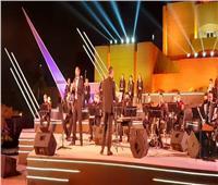 صور| وزيرة الثقافة تشهد أول حفل بمسرح النافورة في الأوبرا