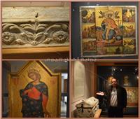 صور| من المقتنيات الهامة بمتحف الدير.. تعرف على تابوت سانت كاترين