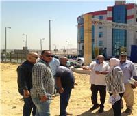 نائب محافظ القاهرة تتفقد المشروعات التنموية بالأسمرات