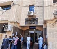 توافد المرشحين على محكمة دمنهور للترشح في انتخابات مجلس الشيوخ بالبحيرة