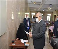 انطلاق ماراثون امتحانات طلاب الفرق النهائية بجامعة القاهرة