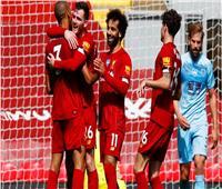 فيديو| نهاية الشوط الأول.. ليفربول يتقدم على بيرنلي