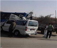 مصرع وإصابة 13 شخصا في حادث تصادم بالطريق الساحلي بالإسكندرية