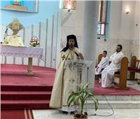 كنيسة السيدة العذراء بالمقطم تستقبل النائب البطريركي في زيارة رعوية