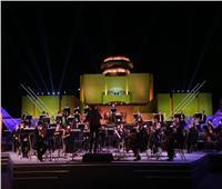 صور| حوار موسيقي بين السيمفوني المصري والاتحاد الأوروبي في الأوبرا