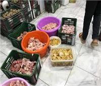 إعدام 2000 كيلو مواد الغذائية فاسدة بالدقهلية
