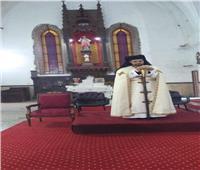 الأنبا باخوم يزور كنيسة القديسة حنا والقديس بطرس بطنطا
