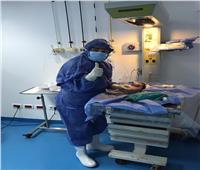 إجراء أول ولادة قيصرية لأم مصابة بكورونا في مستشفى دمياط العام