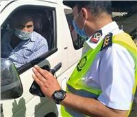 ضبط 2169 سائق نقل جماعي لعدم الإلتزام بإرتداء الكمامات الواقية
