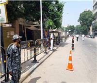 بالصور: قوات الداخلية تسيطر على محيط مدرسة جمال عبد الناصر