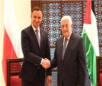 الرئيس الفلسطيني يهنئ نظيره البولندي بمناسبة إعادة انتخابه
