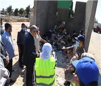 محافظ قنا يشهد بدء التشغيل التجريبي لخط الإنتاج الجديد بمصنع تدوير المخلفات في نجع حمادي