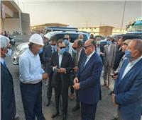 وزير البترول: لجنة فنية لمعرفة أسباب حريق خط مازوت طريق الإسماعيلية