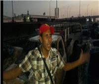 بالفيديو| صاحب سيارة محترقة بـ«خط المازوت»: «شوفنا نار جهنم»