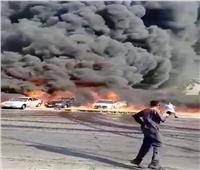 """البيئة توضح تأثير حريق طريق """"مصر الإسماعيلية"""" على جودة الهواء"""
