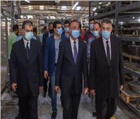 جولة لمحافظ الإسكندرية بمجمع الصناعات البلاستيكية