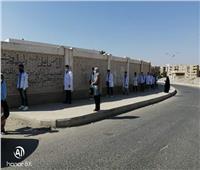 «حجازي» يتابع سير الامتحانات العملي للدبلومات الفنية بالجيزة