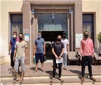 تعافي ١٢٠ مريض كورونا وخروجهم من الحجر الصحي في شرم الشيخ