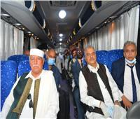 صور| بالتزامن مع دعوة «البرلمان الشرعي».. وفد القبائل الليبية في القاهرة لمناقشة التداعيات الأزمة الراهنة