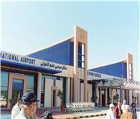 مطار مرسى علم يستقبل رحلة طيران دولي قادمة من سويسرا