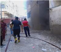إخماد حريق نشب بالوحدة المحلية لمركز طهطا