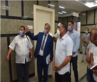 محافظ مطروح يتفقد مستشفى السلوم المركزي تمهيدا لافتتاحه
