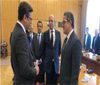 وزير السياحة والآثار يلتقي مع رئيس جمعية الصداقة البرلمانية المصرية الاوكرانية