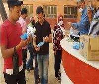 السكرتير العام المساعد بمحافظة الغربية تتفقد لجان امتحانات الثانوية العامة