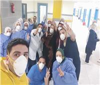 تعافي 5 حالات جديدة من كورونا بمستشفى العزل بالعجمي