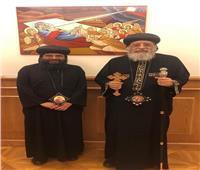 البابا تواضروس يستقبل نيافة الأنبا إيلاريون