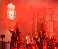 فيديو| احتفالات جماهير ليفربول بـ«الدوري الإنجليزي»
