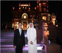 سفير البحرين بمصر يلبي دعوة وزير السياحة لزيارة قصر البارون