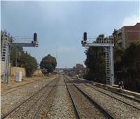 وزير النقل يعلن دخول برج ملوى لإشارات السكك الحديدية بالمنيا الخدمة