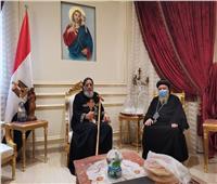 البابا تواضروس يستقبل نيافة الأنبا كاراس والأنبا ديمتريوس