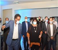 وزيرة الثقافة تحتفل بذكرى ثورة يوليو بالأسمرات.. وتفقدت قصر ثقافة «تحيا مصر»