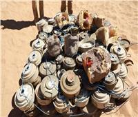 مسام ينتزع 1.186 لغمًا في اليمن خلال الأسبوع الرابع من شهر يوليو