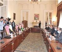 صور| وزير الخارجية ونظيره السعودي يناقشان قضايا التعاون الثُنائي