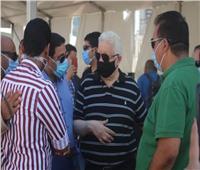 مرتضى منصور يتفقد الجمعية العمومية للزمالك في يومها الثاني ويشيد بالحضور