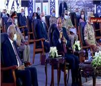 فيديو  أول تعليق من الرئيس السيسي على عمارة الزمالك