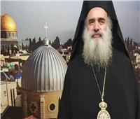 خاص  رئيس أساقفة أرثوذكس القدس: إحراق المستوطنين مسجدًا بالبيرة اعتداء على كل أمتنا