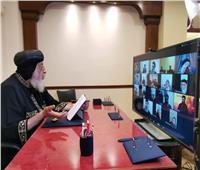 البابا تواضروس يلتقي كهنة الخليج