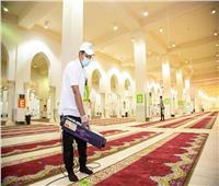 صور| وزارة الشؤون الإسلامية السعودية تعقم مساجد المشاعر المقدسة بالأوزون قبل توافد الحجاج