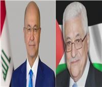الرئيسان الفلسطيني والعراقي يتبادلان التهاني بعيد الأضحى