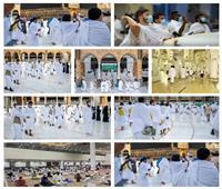 صور وفيديو| «رمي الجمرات وطواف الإفاضة».. أول أيام عيد الأضحى لحجاج بيت الله الحرام