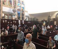 فيديو وصور.. كنائس القاهرة تقيم أول قداس عقب قرار المجمع المقدس بالفتح التدريجي